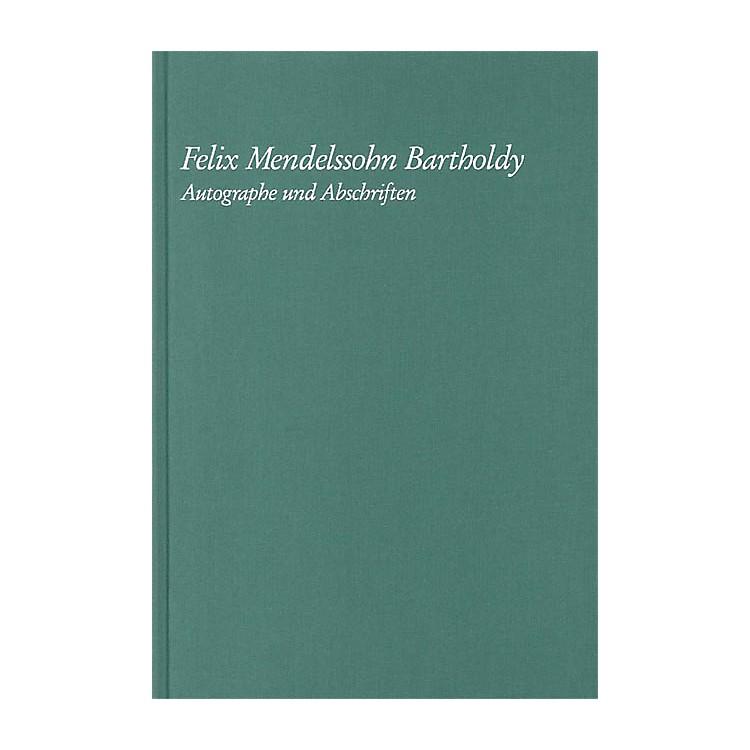 G. Henle VerlagFelix Mendelssohn Bartholdy - Autographe Und Abschriften Henle Books Series Hardcover