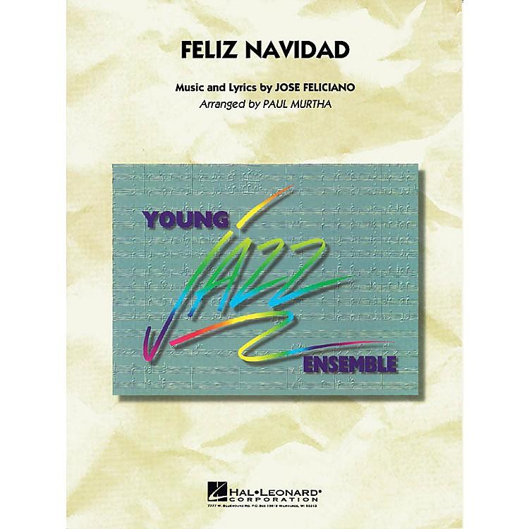 Hal LeonardFeliz Navidad Jazz Band Level 3 Arranged by Paul Murtha