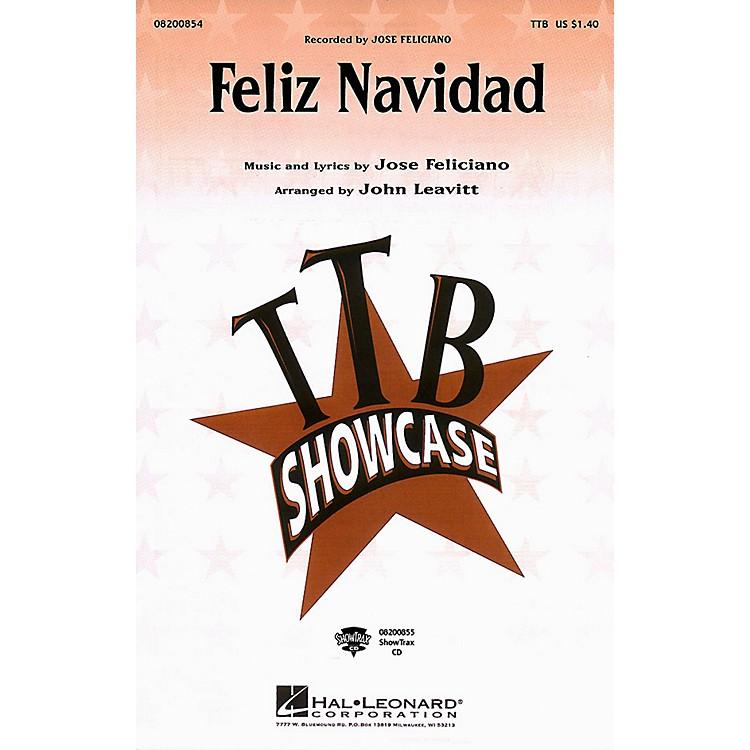 Hal LeonardFeliz Navidad TTB by Jose Feliciano arranged by John Leavitt