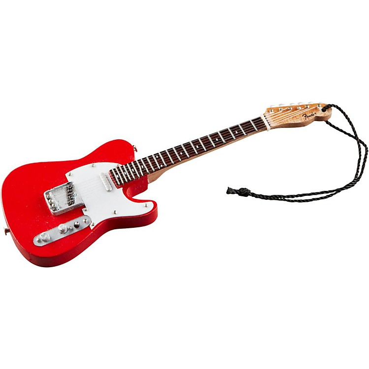 Axe Heaven Fender '50s Red Telecaster 6-Inch Holiday Ornament