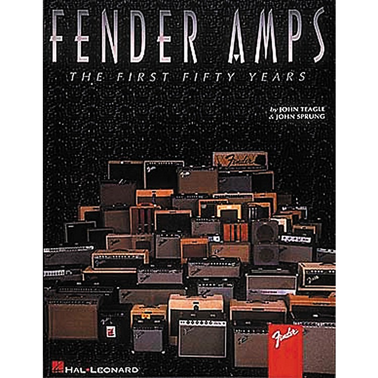 Hal LeonardFender Amps The First Fifty Years Book