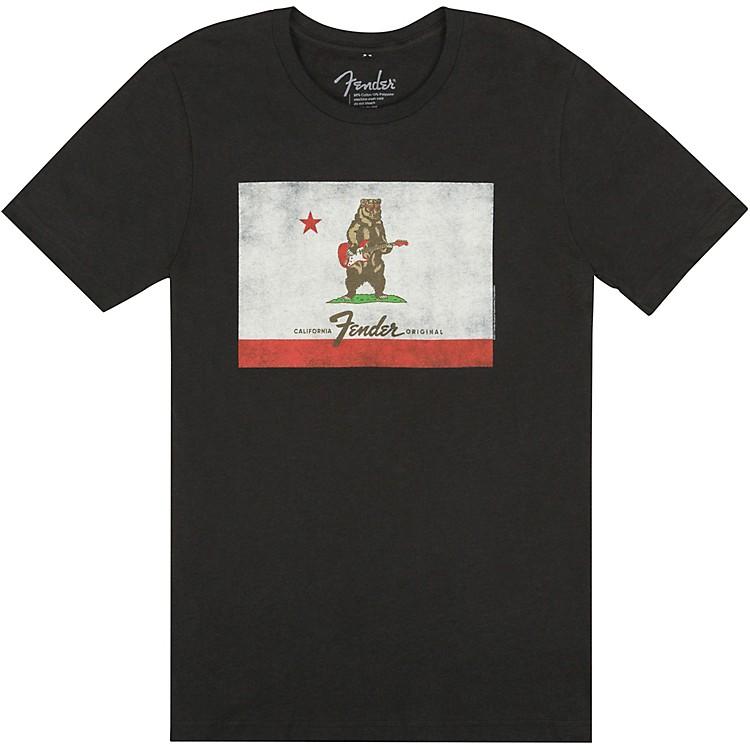 FenderFender Bear Flag T-Shirt - BlackXX Large