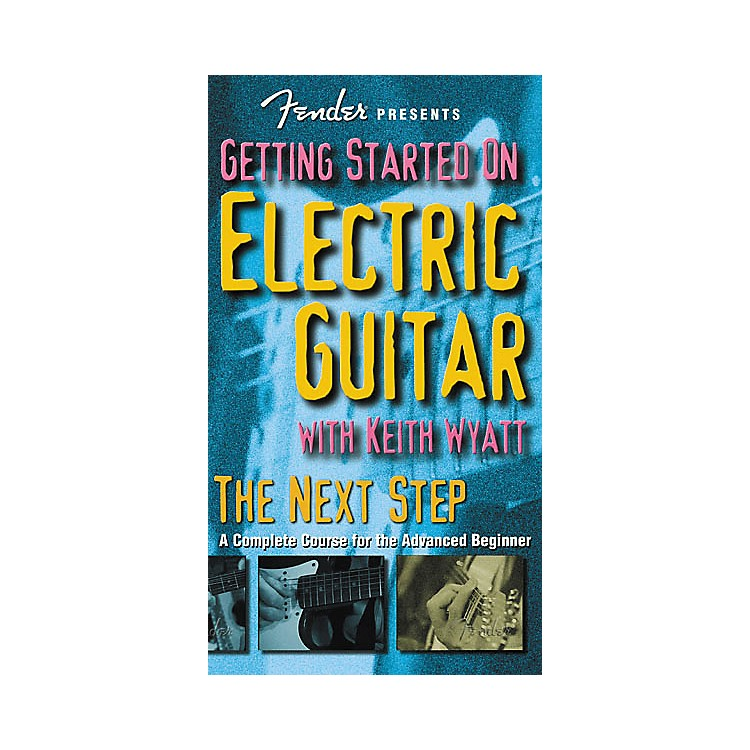 Hudson Music Fender Presents: Getting Started on Electric Guitar - The Next Step (VHS)