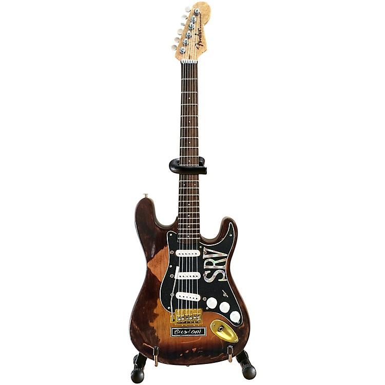 Axe HeavenFender Stratocaster - Classic Sunburst Finish Officially Licensed Miniature Guitar Replica (SRV Edition)