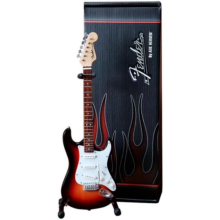 Axe HeavenFender Stratocaster Sunburst Miniature Guitar Replica Collectible