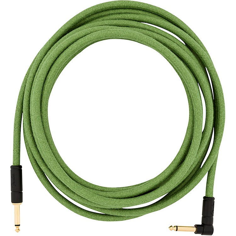 FenderFestival Pure Hemp Straight to Angle Instrument Cable18.6 ft.Natural