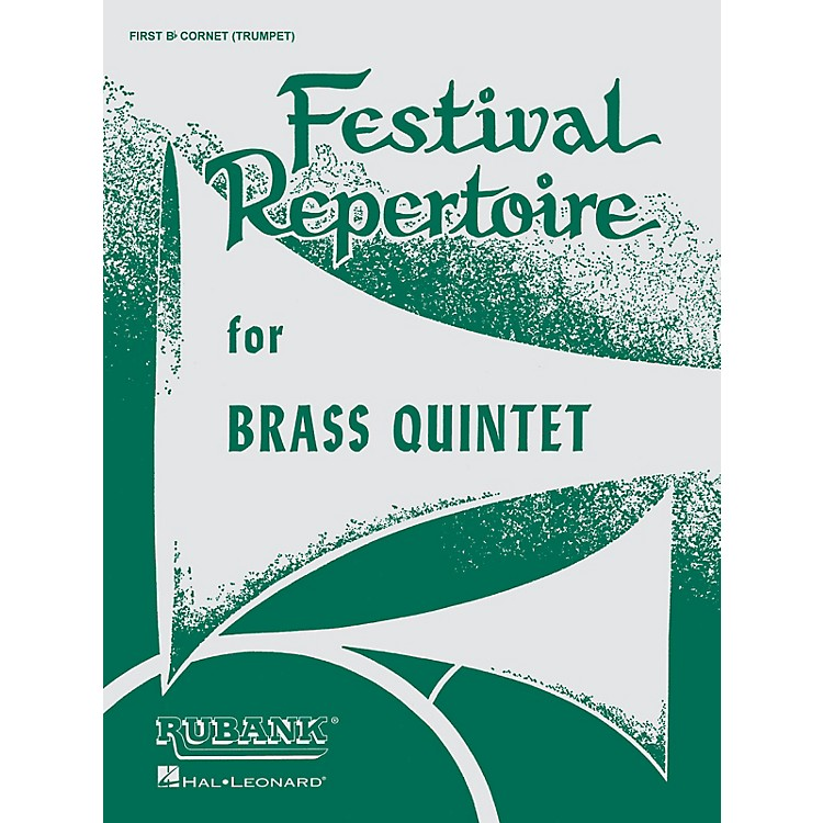Rubank PublicationsFestival Repertoire for Brass Quintet (Baritone T.C. (4th Part)) Ensemble Collection Series