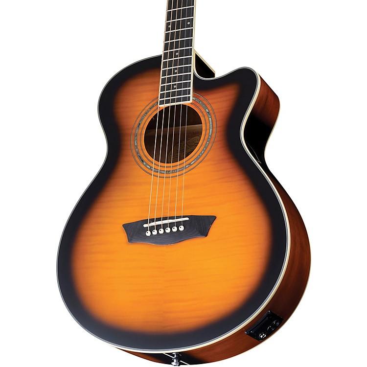 WashburnFestival Series Acoustic-Electric GuitarTobacco Burst