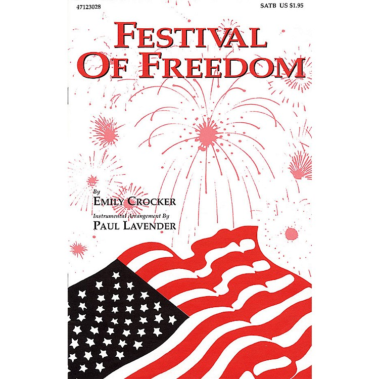 Hal Leonard Festival of Freedom SATB arranged by Emily Crocker