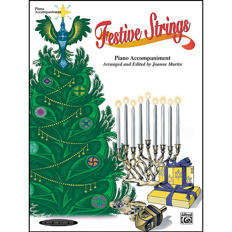 AlfredFestive Strings Piano Accompaniment (Book)