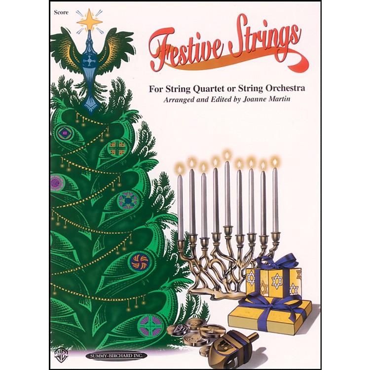 AlfredFestive Strings Score (Book)