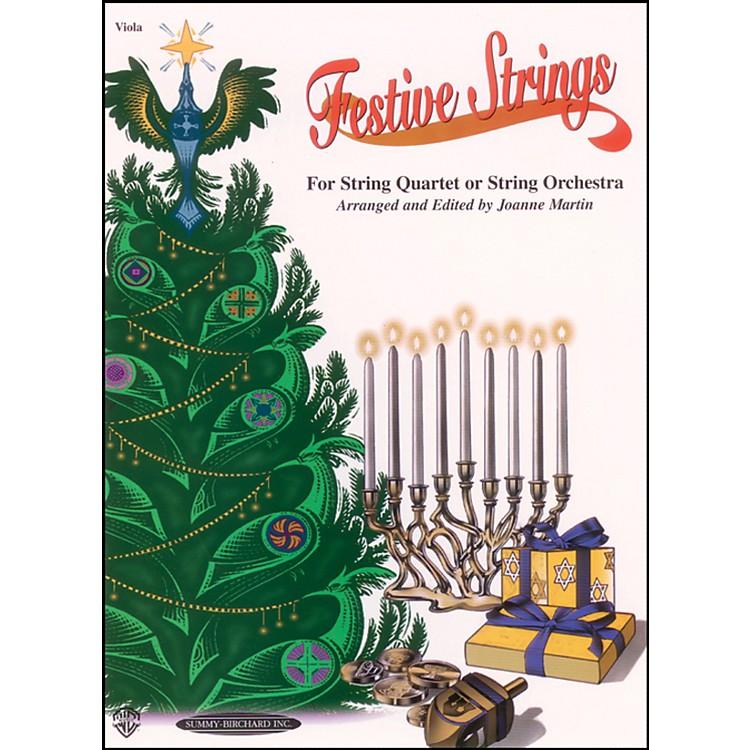 AlfredFestive Strings Viola (Book)