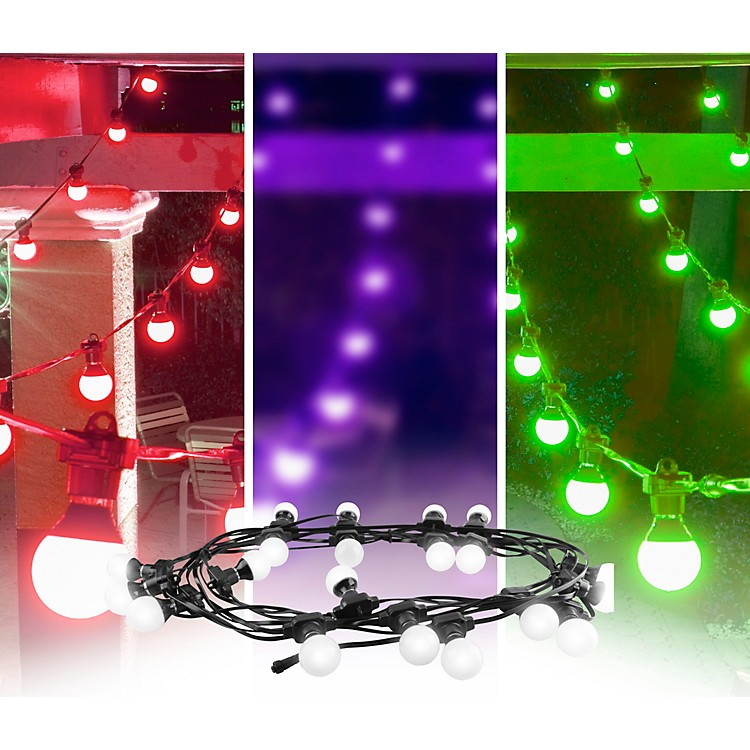 CHAUVET DJ Festoon Indoor/Outdoor Pixel-Mappable LED Effect Lights