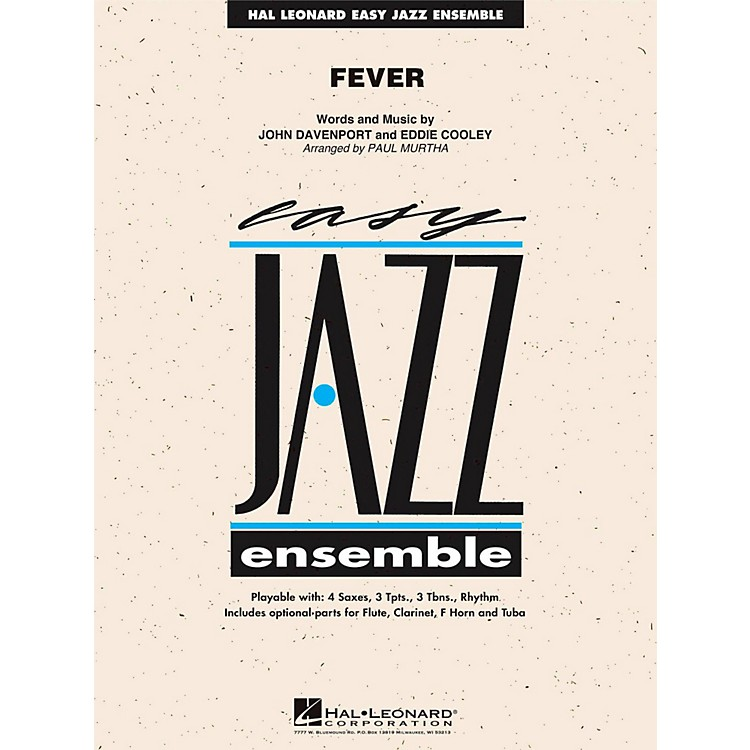 Hal Leonard Fever - Easy Jazz Ensemble Series Level 2