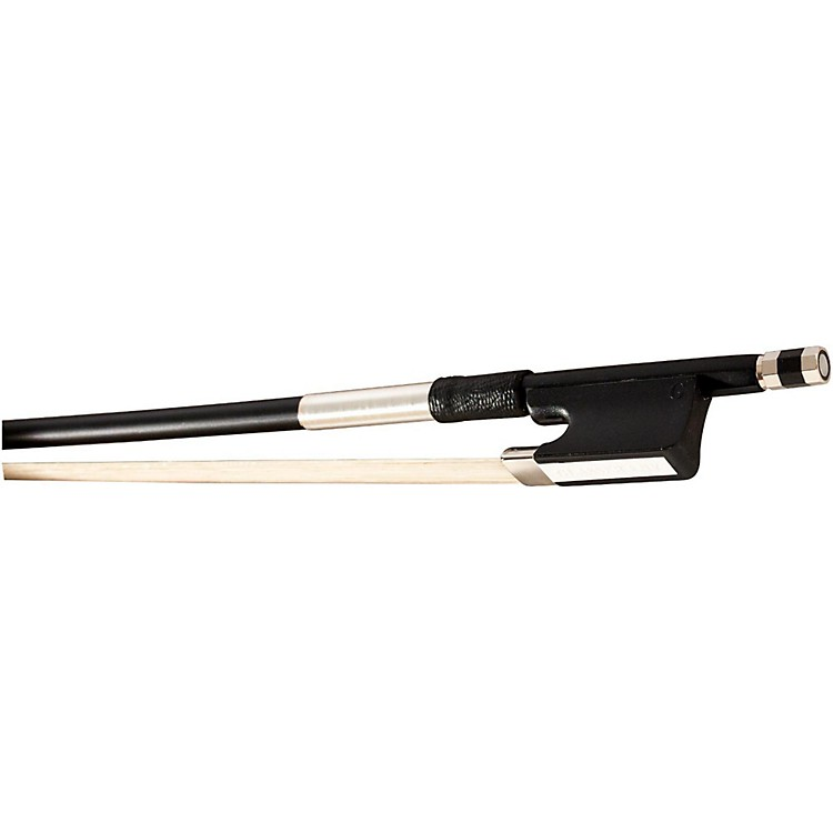 Glasser Fiberglass Cello Bow with Wire Grip 1/4 Size