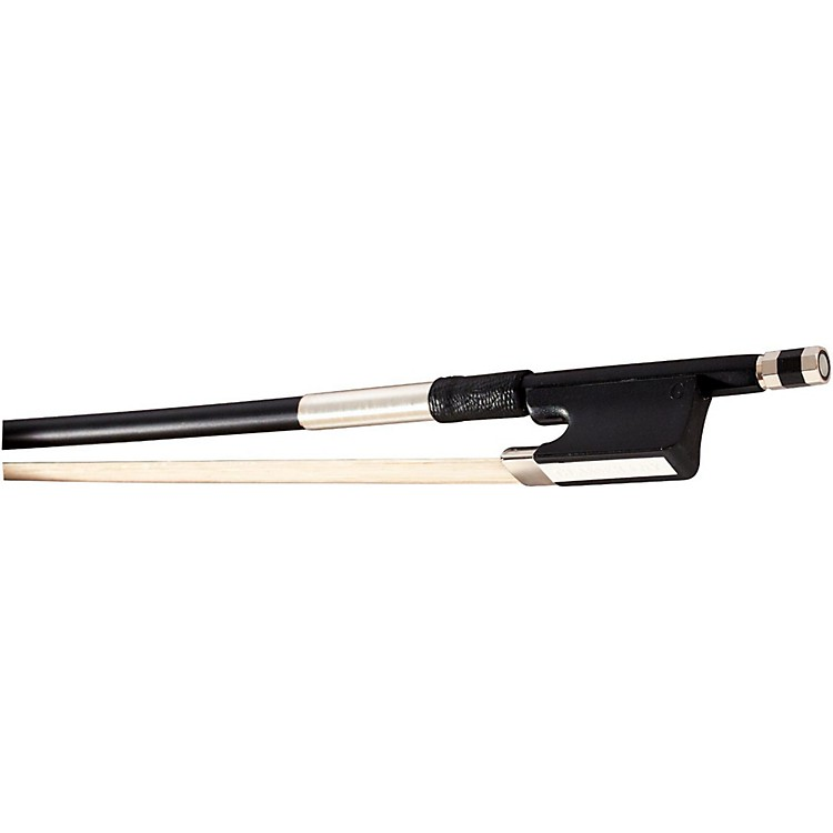 Glasser Fiberglass Cello Bow with Wire Grip 1/8 Size