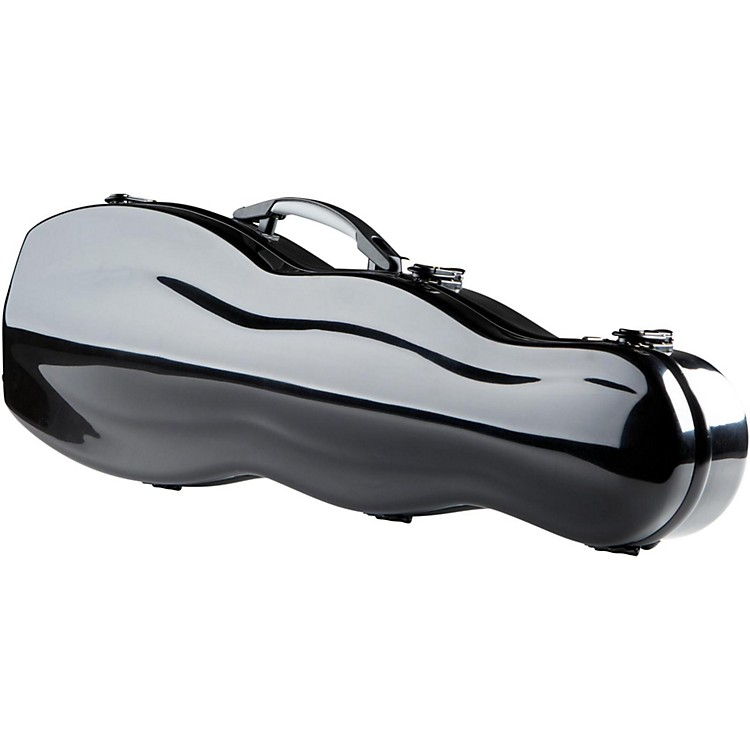 The String CentreFiberglass Gourd Shaped Violin Case4/4 Black