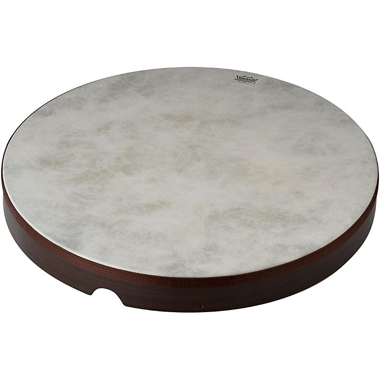Remo Fiberskyn Frame Drum Walnut 8 in.