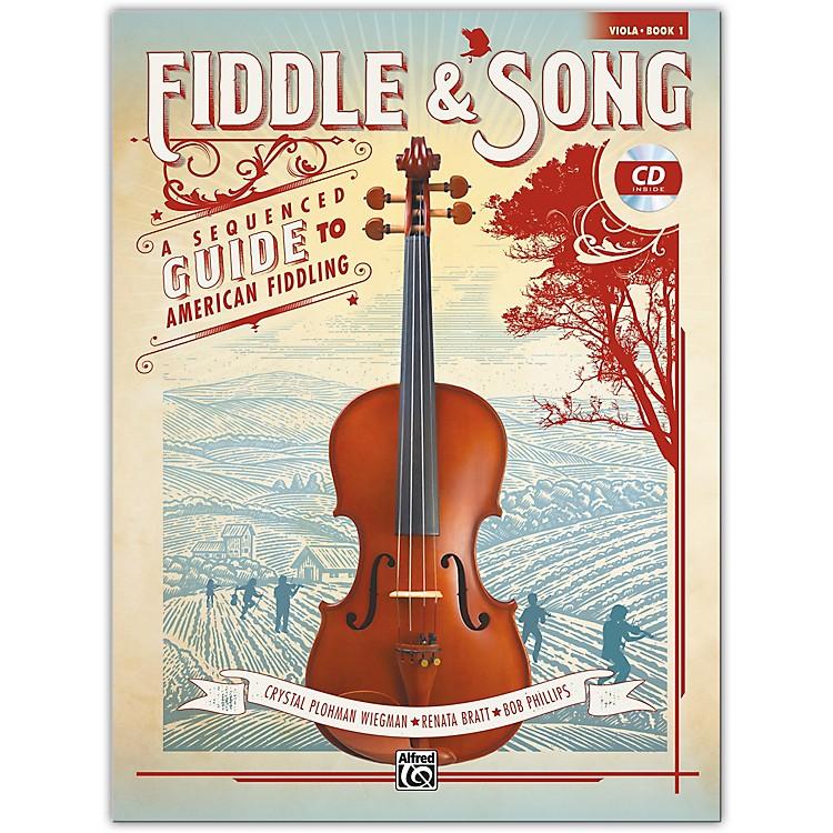 AlfredFiddle & Song, Book 1 Viola Book & CD Intermediate