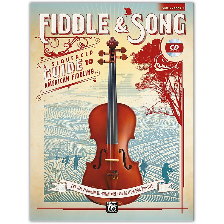 Alfred Fiddle & Song, Book 1 Violin Book & CD Intermediate