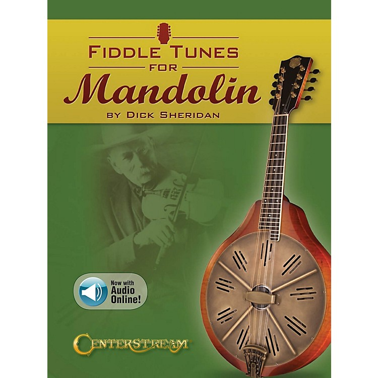 Centerstream PublishingFiddle Tunes for Mandolin Fretted Series Softcover Audio Online Written by Dick Sheridan