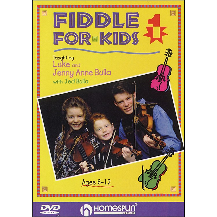 HomespunFiddle for Kids, Lesson One (DVD)