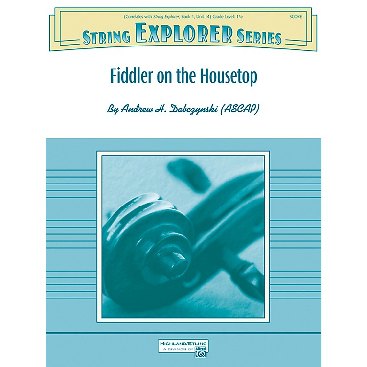AlfredFiddler on the Housetop String Orchestra Grade 1.5 Set