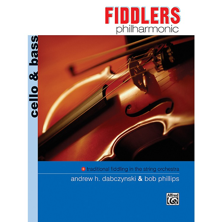 AlfredFiddlers Philharmonic Cello & Bass Book