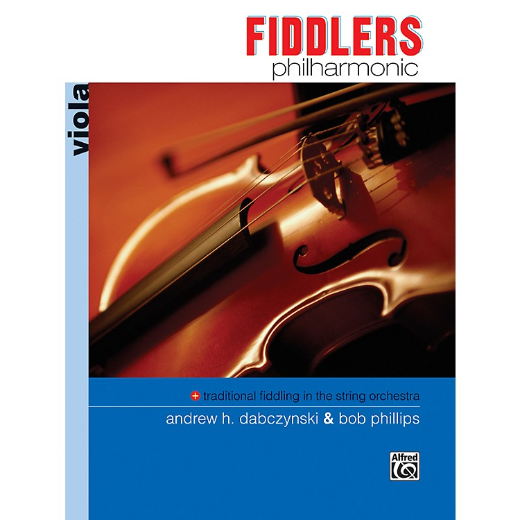 Alfred Fiddlers Philharmonic Viola Book
