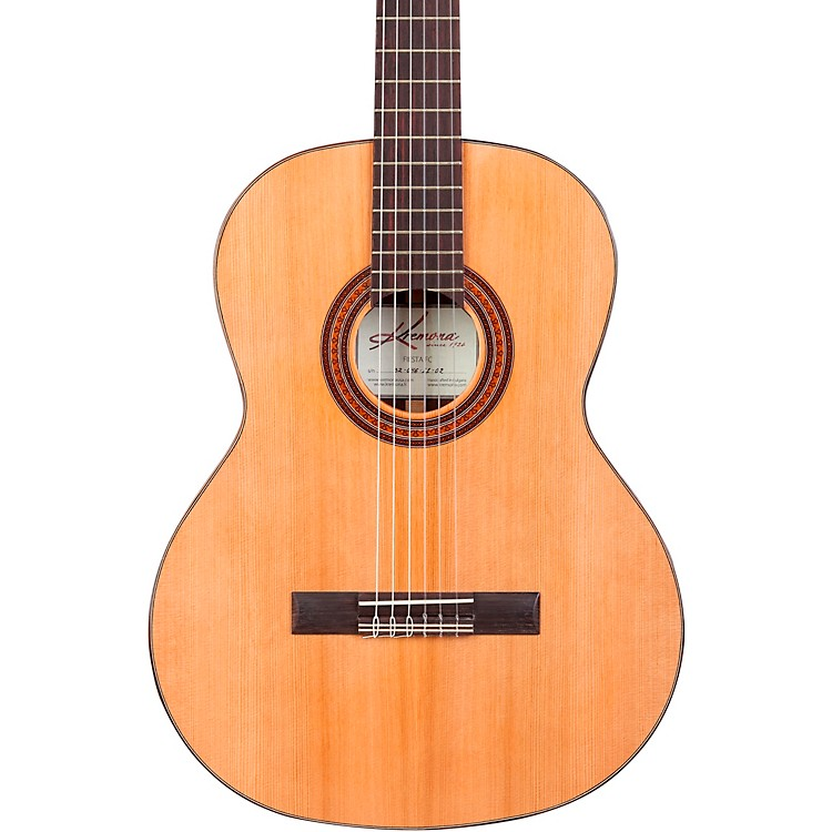 Kremona Fiesta FC Classical Acoustic Guitar Natural 888365597089