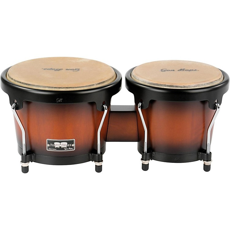Gon Bops Fiesta Series Bongo 7 and 8.5 in. Sunburst