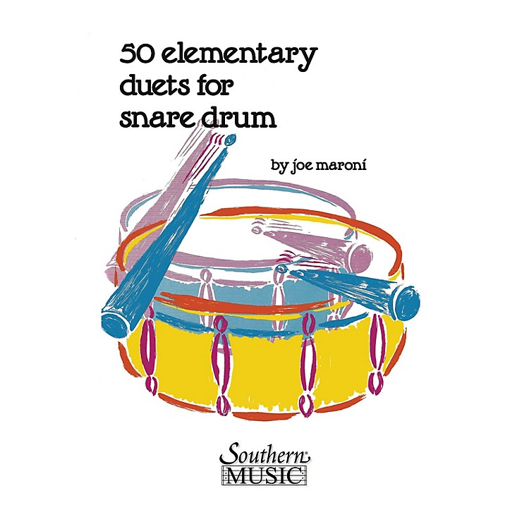 Hal LeonardFifty Elementary Duets For Snare Drum Southern Music Series Composed by Maroni, Joe