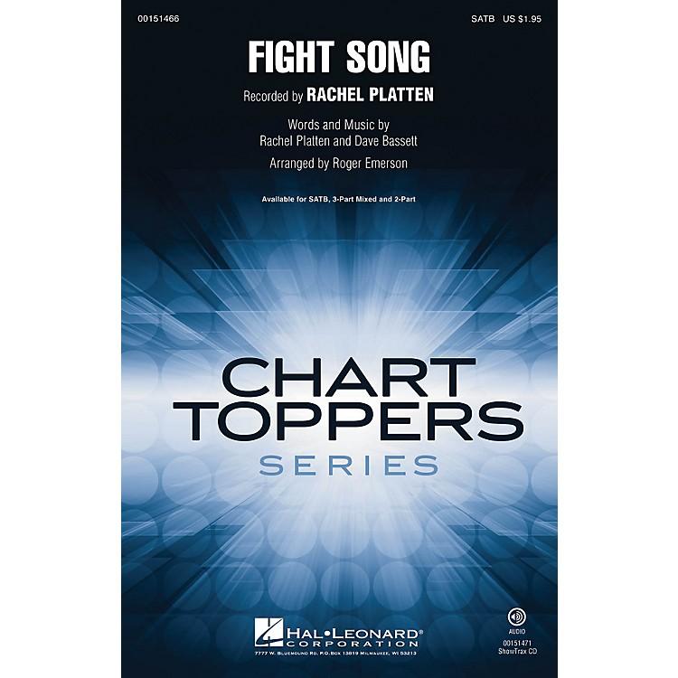 Hal LeonardFight Song ShowTrax CD by Rachel Platten Arranged by Roger Emerson