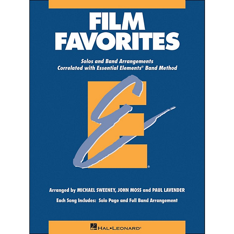 Hal Leonard Film Favorites E-Flat Alto Saxophone