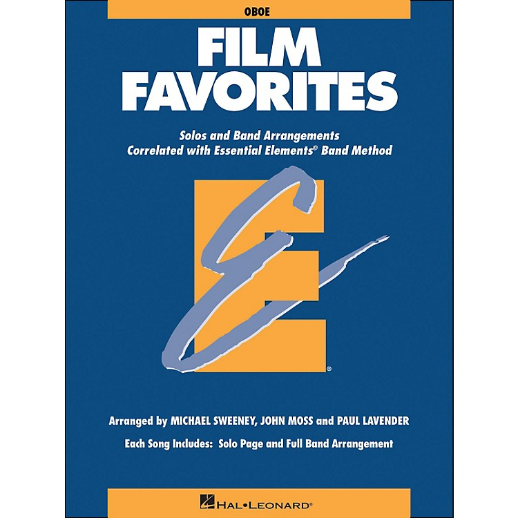 Hal Leonard Film Favorites Oboe