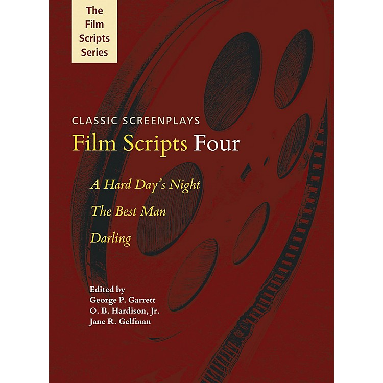 Applause BooksFilm Scripts Four (A Hard Day's Night, The Best Man, Darling) Applause Books Series Softcover