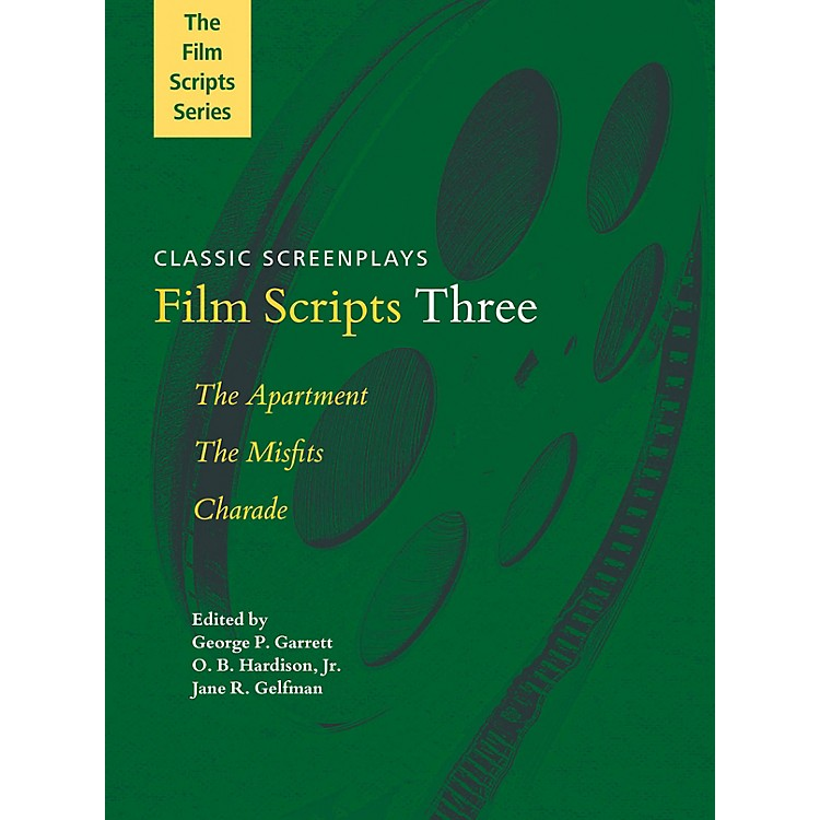 Applause BooksFilm Scripts Three (The Apartment, The Misfits, Charade) Applause Books Series Softcover