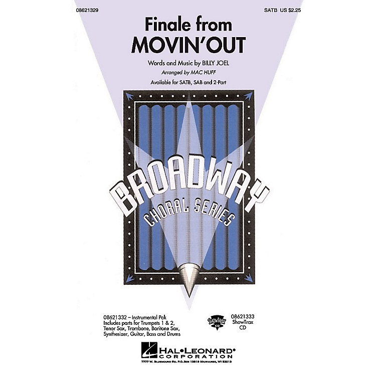 Hal LeonardFinale from Movin' Out SATB arranged by Mac Huff