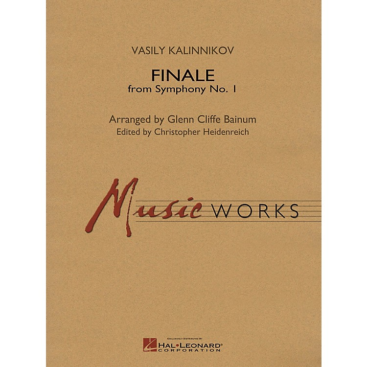 Hal Leonard Finale from Symphony No. 1 (Revised Edition) Concert Band Level 5 Arranged by Glenn Cliffe Bainum