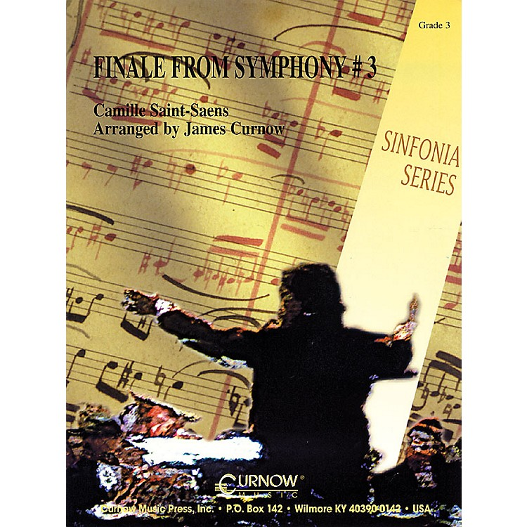 Curnow MusicFinale from Symphony No. 3 (Grade 3 - Score and Parts) Concert Band Level 3 Arranged by James Curnow