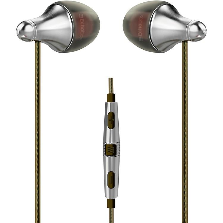 Echobox AudioFinder Titanium Hi-Res Earphones - iPhone Edition