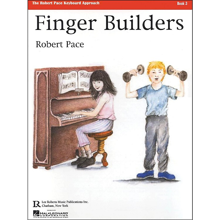Hal Leonard Finger Builders Book 3 - Piano