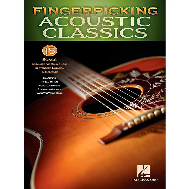 Hal LeonardFingerpicking Acoustic Classics - 15 Songs Arr. For Solo Gtr In Standard Notation & Tab