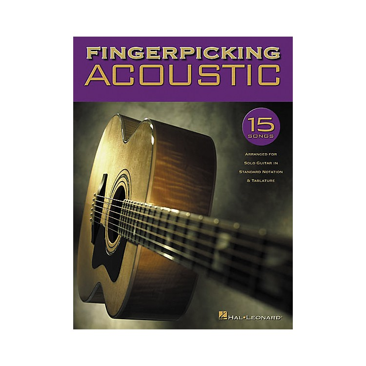 Hal Leonard Fingerpicking Acoustic Solo Guitar Tab Songbook