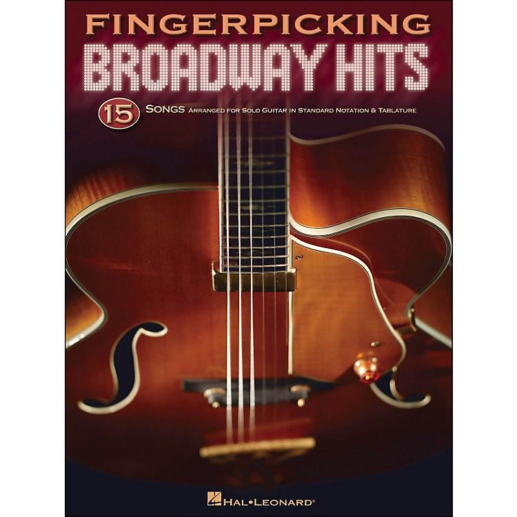 Hal LeonardFingerpicking Broadway Hits - 15 Songs Arr. for Solo Guitar In Standard Notation & Tab