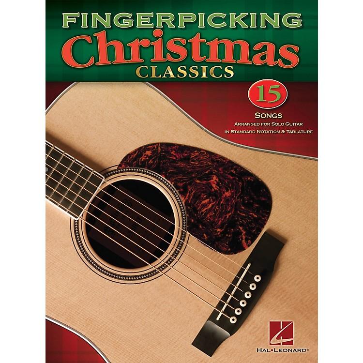 Hal LeonardFingerpicking Christmas Classics Guitar Solo Series Softcover