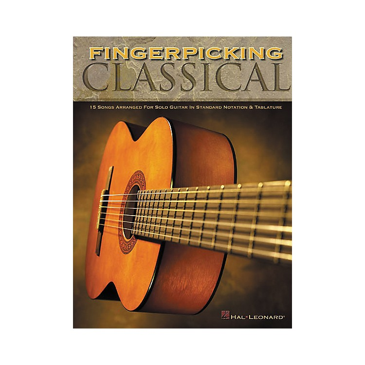 Hal LeonardFingerpicking Classical Solo Guitar Tab Book