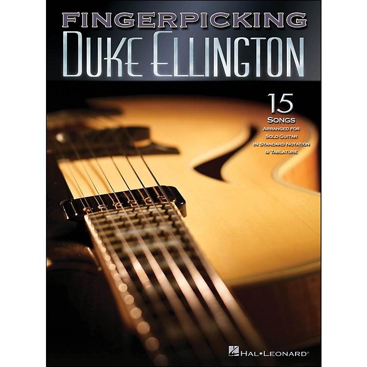 Hal LeonardFingerpicking Duke Ellington 15 Songs Arr. for Solo Guitarin Standard Notation & Tab