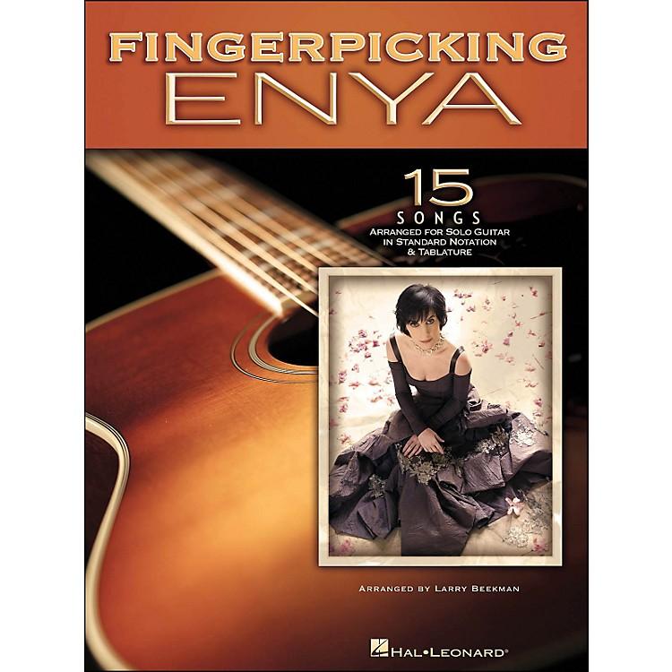 Hal LeonardFingerpicking Enya 15 Songs Arranged for Solo Guitar In Standard Notation & Tab