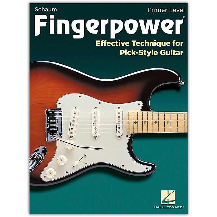 SCHAUMFingerpower - Primer Level Effective Technique for Pick-Style Guitar